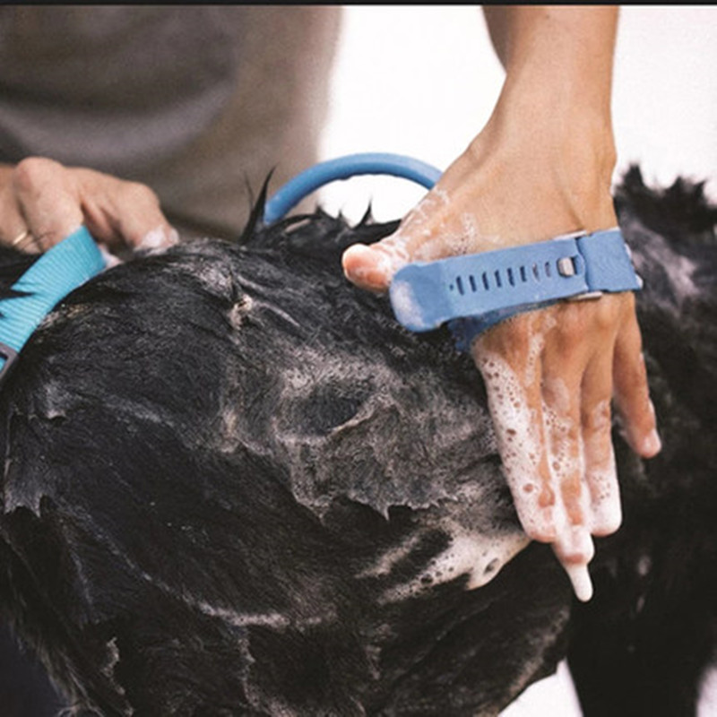 Washing Bath Sprayers Dog Brush
